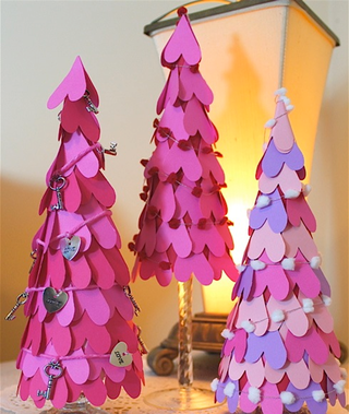Valentine's Day Party Crafting: Heart Tree Centerpiece #PreppyPlanner