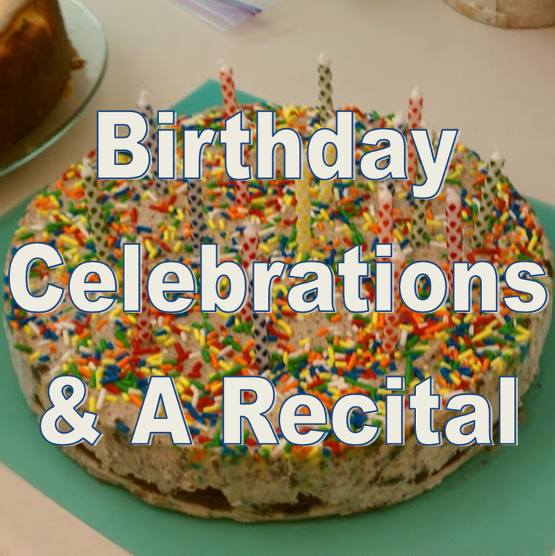 Weekend Recap: Birthday Celebrations & A Recital #PreppyPlanner