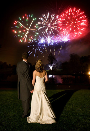 Wedding Firework Show