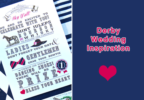 Derby Wedding Inspiration #PreppyPlanner