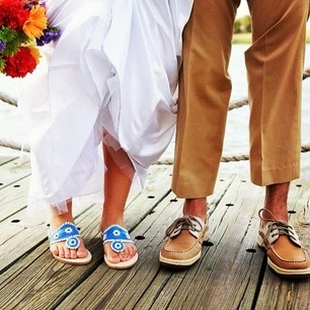 Preppy Wedding Style for the Bride and Groom #PreppyPlanner