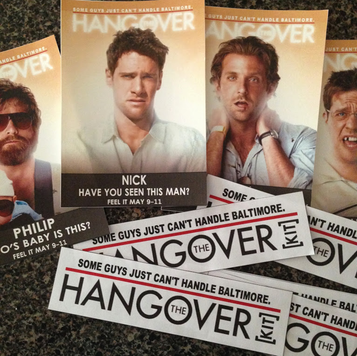 Bachelor Favor Bags: The customized Hangover Kit labels #PreppyPlanner