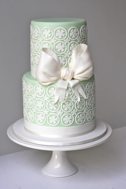 Wedding Wednesday: Lace Inspired Wedding Cakes - The ...