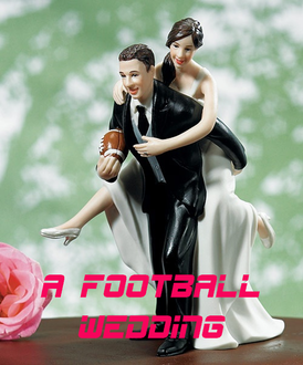 love football? this football themed wedding will even get your guy involved in the planning #PreppyPlanner