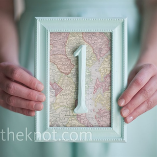 take maps from everywhere you have been and use them as a part of your creative table numbers from #theknot #PreppyPlanner