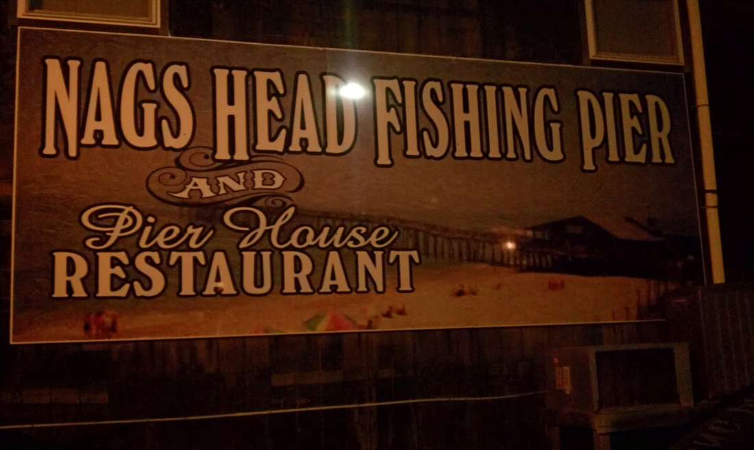 visiting the Nags Head Fishing Pier #PreppyPlanner