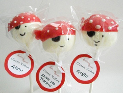 amazingly decorate pirate cake pops from etsy store Entirely Sweet #PreppyPlanner