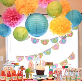 Birthday Party Favorites: I am addicted to DIY decorations #PreppyPlanner