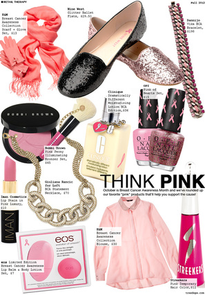 so many different ways that you can shop pink in support of National Breast Cancer Awareness Month #PreppyPlanner