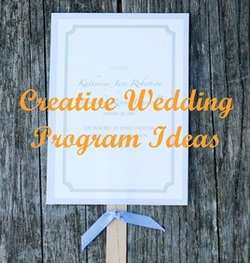 Wedding Wednesday: Programs #PreppyPlanner