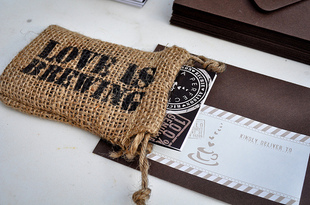 coffee themed invitations for a coffee party like these from #mrslimestone #PreppyPlanner