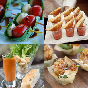 Birthday Party Favorites: Get creative and go mini with the party food #PreppyPlanner