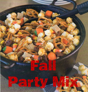great recipe for a fall party mix #PreppyPlanner