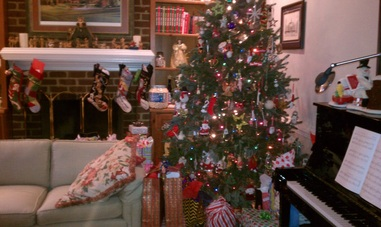 2012 Christmas Recap: all the presents under the tree on Christmas morning #PreppyPlanner