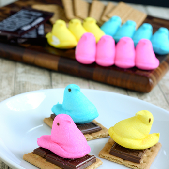 The perfect Easter treat: PEEPS S'Mores #PreppyPlanner