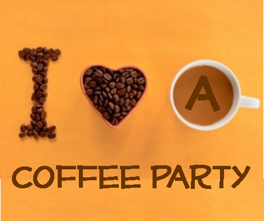 i heart a coffee party in celebration of national coffee day on sept. 29, 2012 #PreppyPlanner