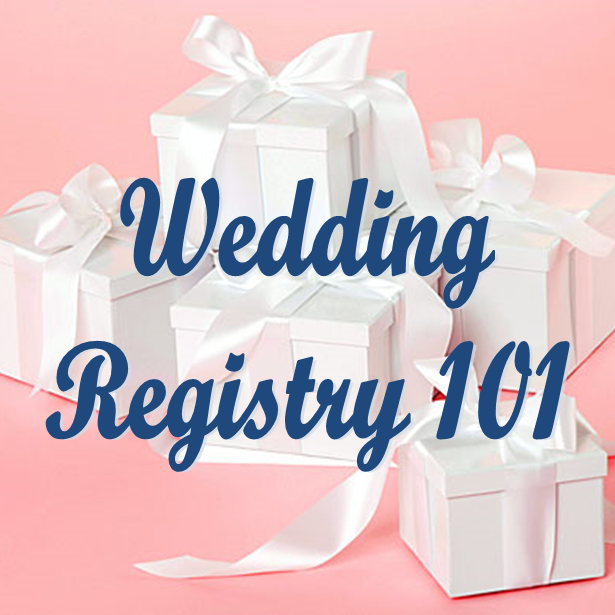 Wedding Wednesday: Registry 101 #PreppyPlanner