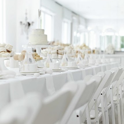 End of summer white party the preppy planner for All white party decoration