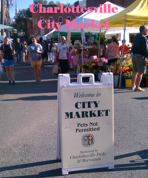 one of the best farmer's markets in Virginia: the Charlottesville City Market #PreppyPlanner