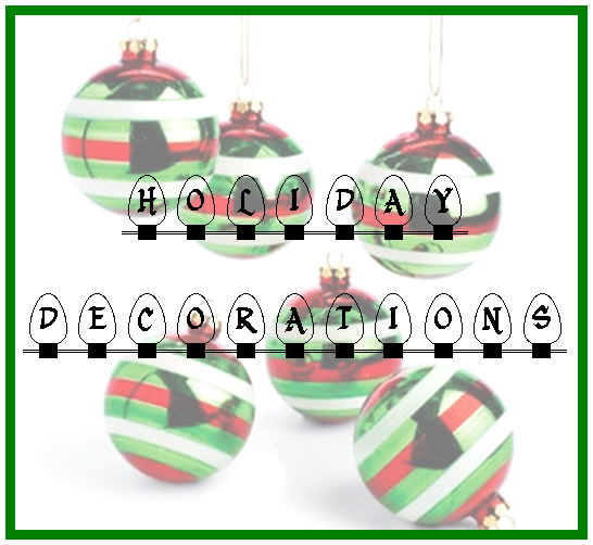Tuesday Ten: Holiday Decorations #PreppyPlanner