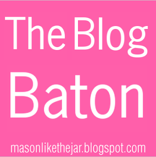 Learn more about this great new way to share your blogging love with The Blog Baton #PreppyPlanner