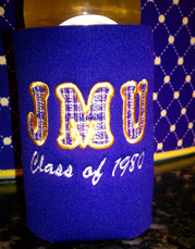for those that can sew, make your own tailgate koozie #PreppyPlanner
