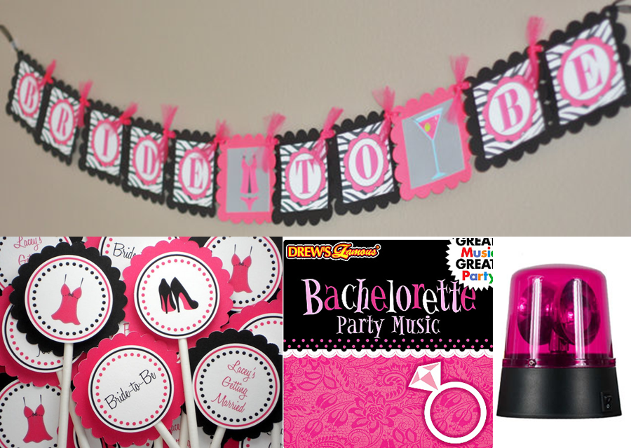 It 39 s bachelorette party time the preppy planner for Bachelorette party decoration ideas