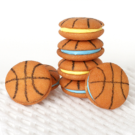 Basketball Themed Snacks #PreppyPlanner