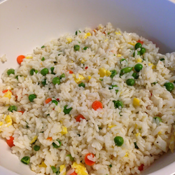 Sinangag or Filipino Fried Rice Recipe #PreppyPlanner
