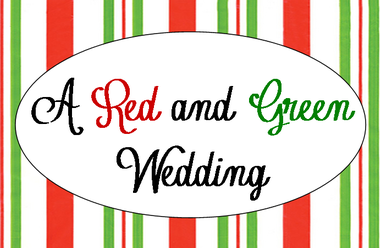 A Very Merry Red and Green Wedding #PreppyPlanner