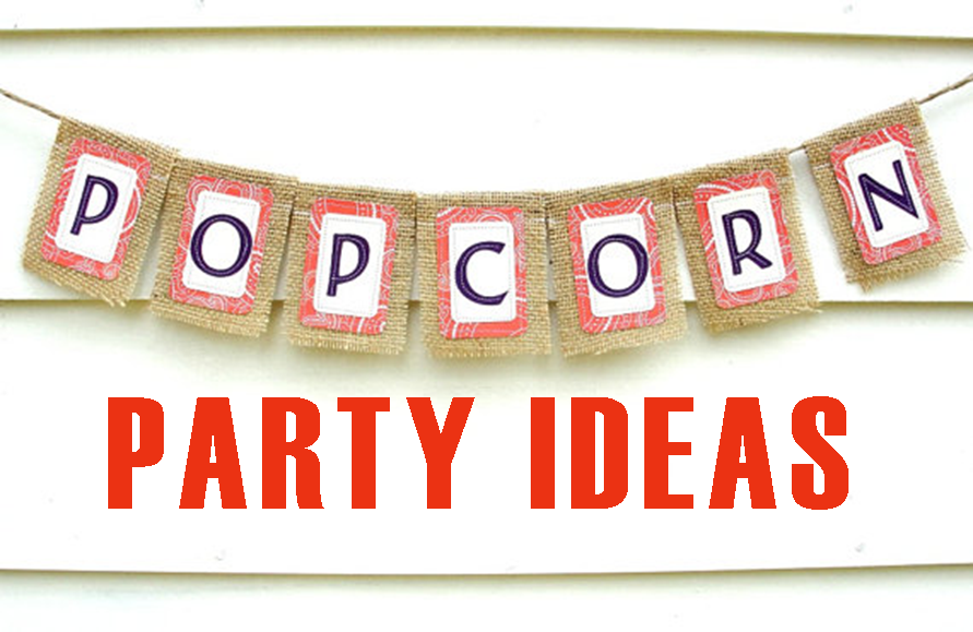 Popcorn Party #PreppyPlanner
