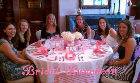 can't go wrong with a pretty in pink bridal luncheon theme #PreppyPlanenr