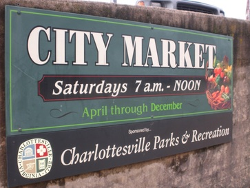 the Charlottesville City Market is the best farmer's market in Charlottesville #PreppyPlanner