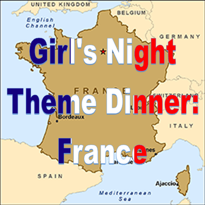 Weekend Recap: Theme Dinner - France #PreppyPlanner