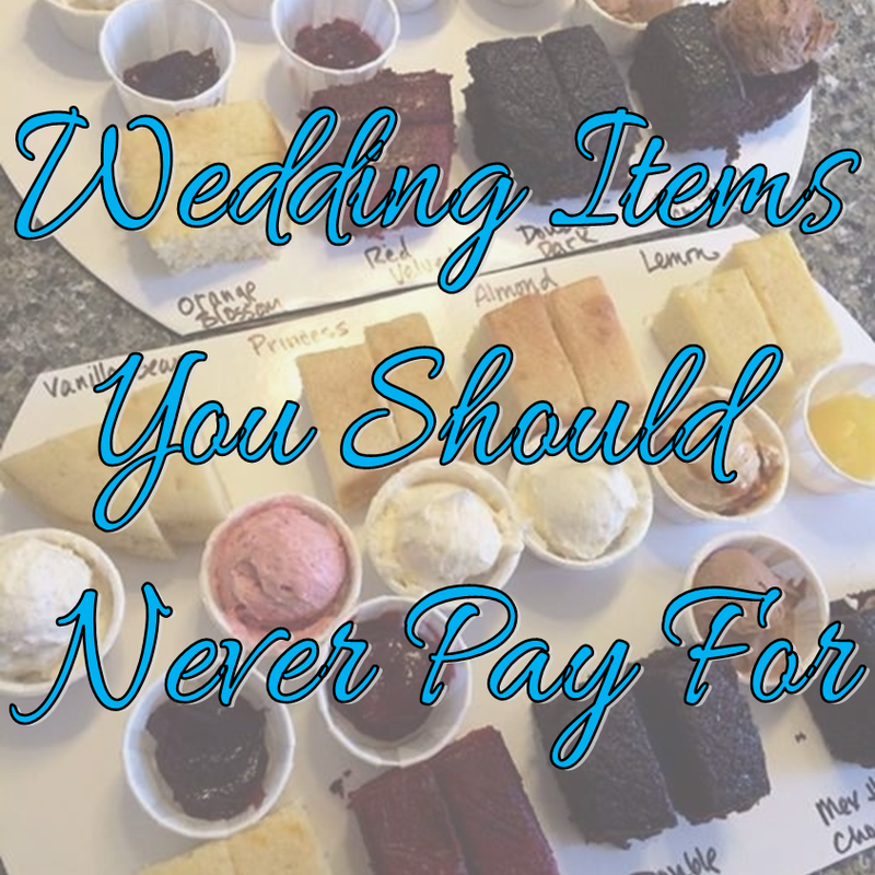 Wedding Wednesday: What You Should NEVER Pay For #PreppyPlanner