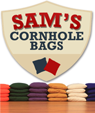 order your own customized set of cornhole bags from Sam's Cornhole Bags #PreppyPlanner