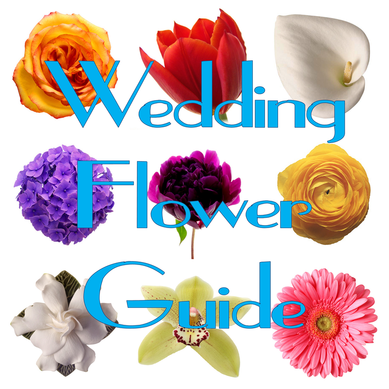 Wedding Wednesday: Flower Guide #PreppyPlanner