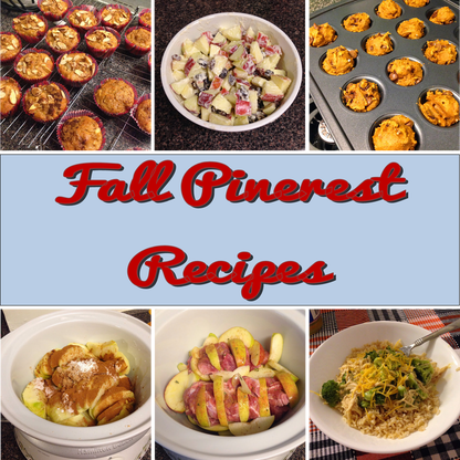Weekend Recap: Fall Pinterest Recipes #PreppyPlanner