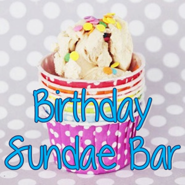 Birthday Sundae Bar #PreppyPlanner