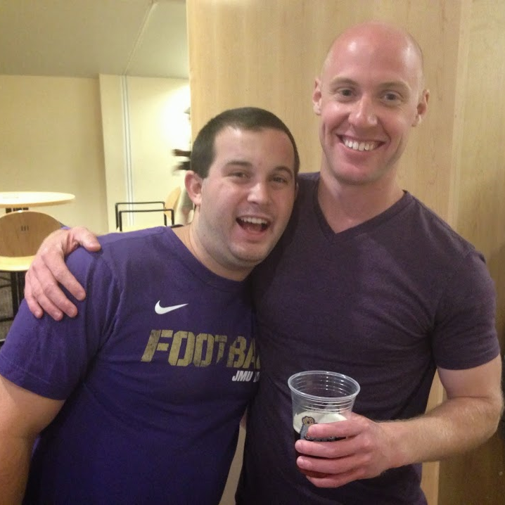 Football Season Photo Diary: Catching up with friends from when I went to JMU #PreppyPlanner