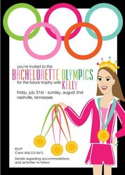 Host an Olympic themed bachelorette or bachelor party #PreppyPlanner