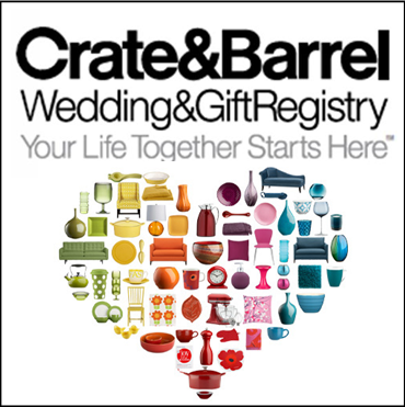 Crate Barrel Wedding Registry.Wedding Wednesday Registry 101 The Preppy Planner