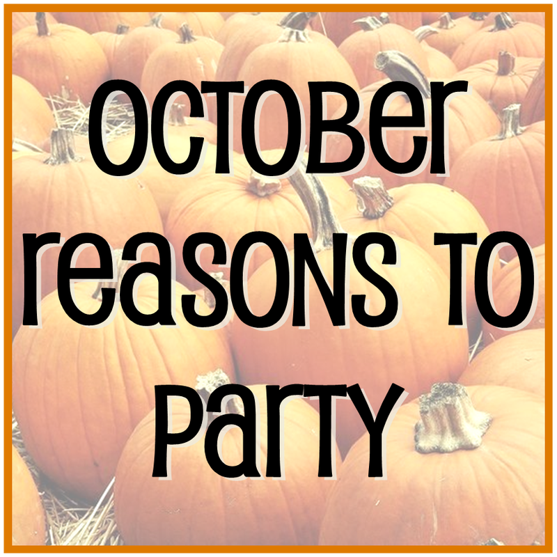 Tuesday Ten: October Reasons to Party #PreppyPlanner