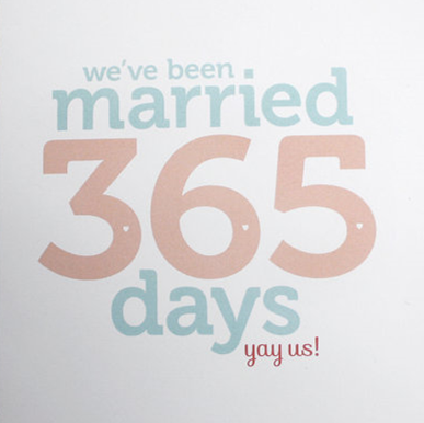 Wedding Wednesday: The First Anniversary #PreppyPlanner