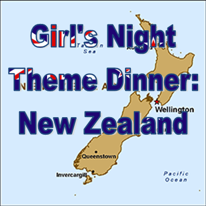 Weekend Recap: Theme Dinner - New Zealand #PreppyPlanner