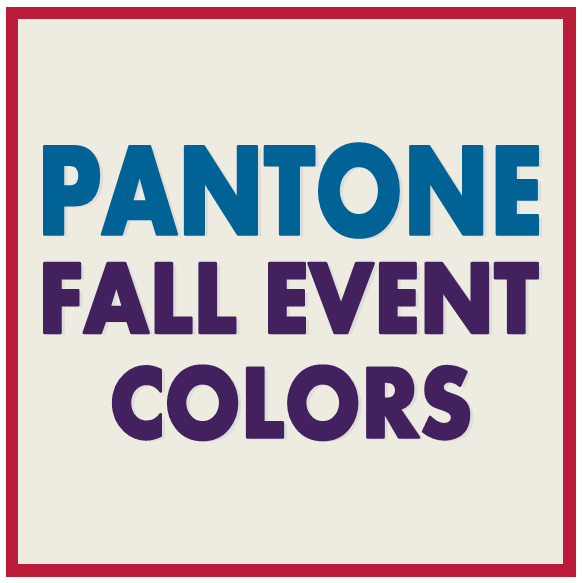 Tuesday Ten: Fall Event Colors 2013 #PreppyPlanner
