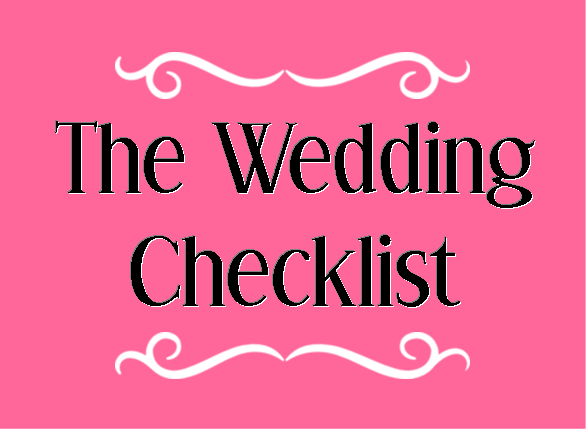 Wedding Wednesday: The Checklist #PreppyPlanner