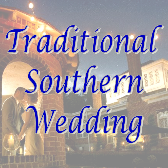 Wedding Wednesday: Traditional Southern Wedding #PreppyPlanner