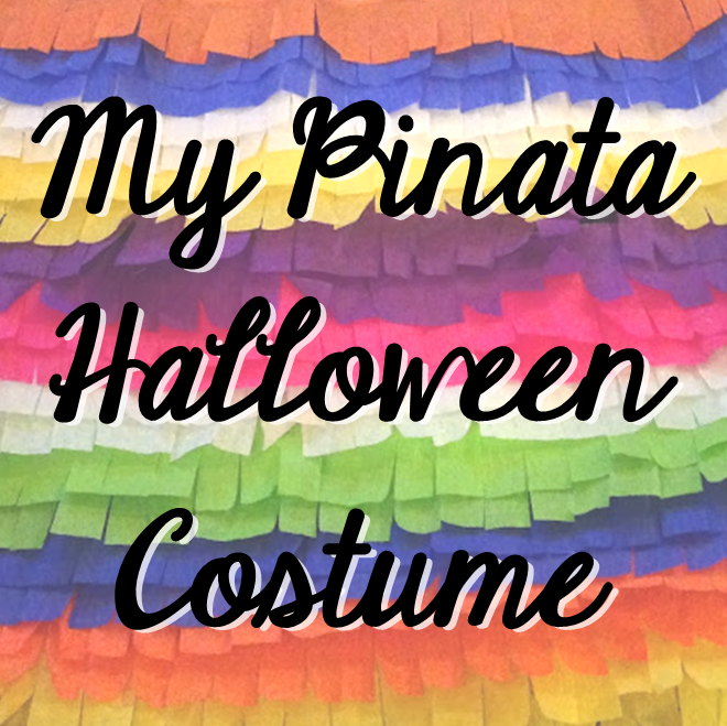Weekend Recap: My Pinata Halloween Costume #PreppyPlanner