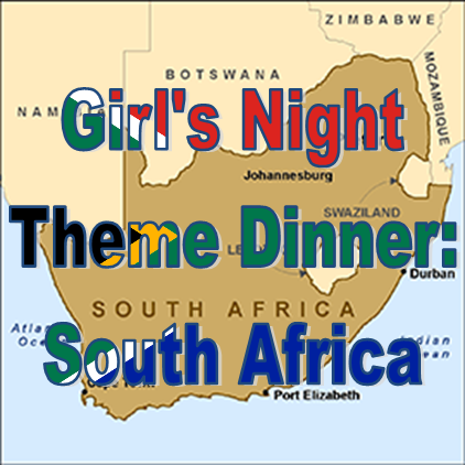 Weekend Recap: Monthly Theme Dinner-South Africa #PreppyPlanner